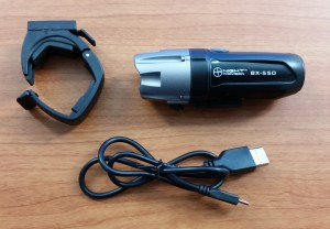 BX-550 USB Rechargeable Bicycle Headlight